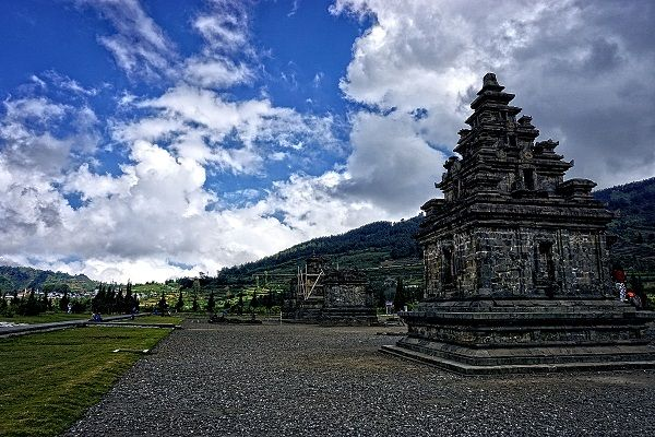 Arjuna Temples at Dieng Plateau