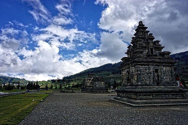Arjuna Temples at Dieng Plateau