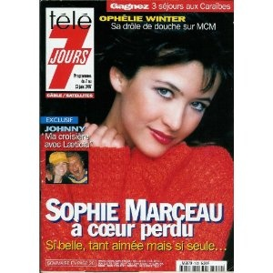 Télé 7 jours - n°1932 - 07/06/1997 - Sophie Marceau à coeur perdu [magazine mis en vente par Presse-Mémoire]