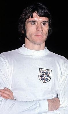 Dave Watson of England in 1974.
