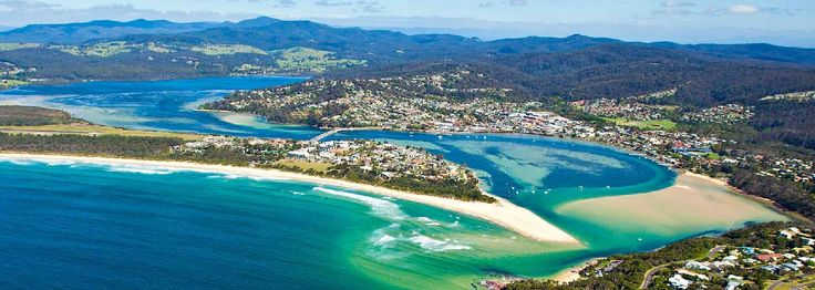 Sapphire Coast: Part of your Sydney to Melbourne Touring road trip, highlighting places to stay, maps, attractions and itineraries