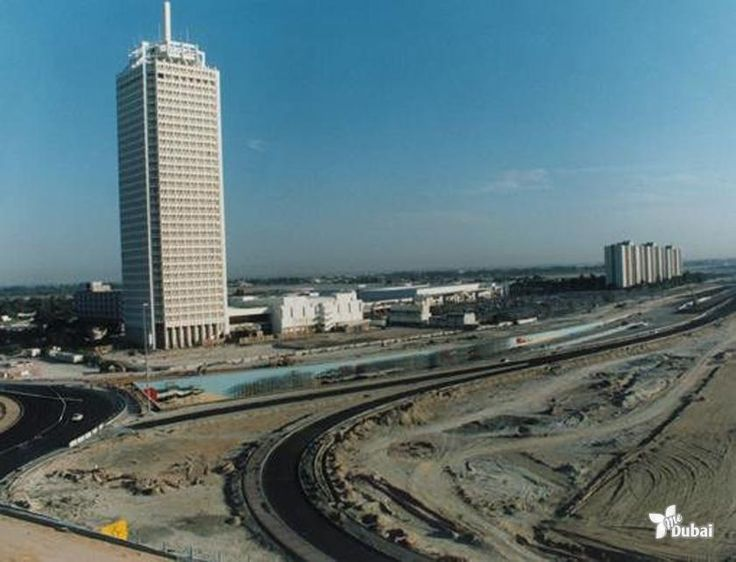 Dubai Trade Centre and Sheikh Zayed Road mid 1990′s #dubai ...