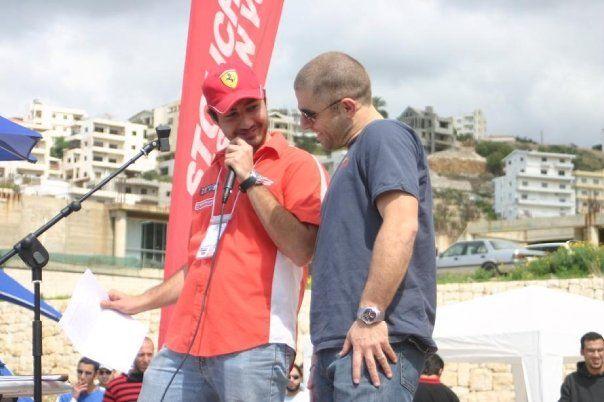 With Lebanese Rally Driver Champion Abdo Feghali