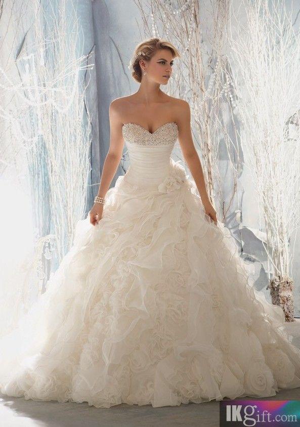 25+ besten A Line Wedding Dress Bilder auf Pinterest | Brautkleider ...