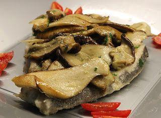 Denny Chef Blog: Scaloppina di pesce spada con porcini