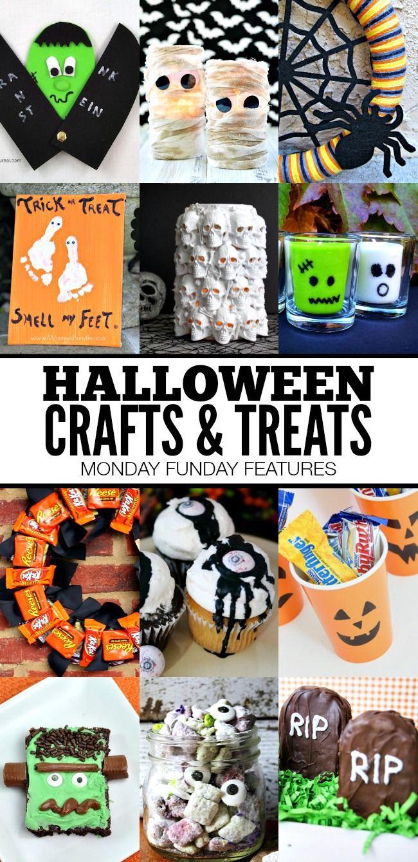 Fun Halloween Crafts and Treats | www.settingforfour.com