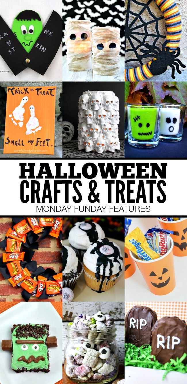 Fun Halloween Crafts and Treats | www.settingforfour.com