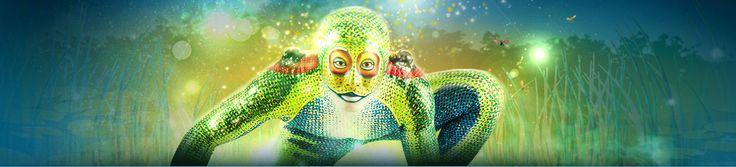 Grenouille from Cirque du Soleil.