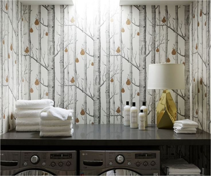girl blog archive wallpapered laundry rooms girl