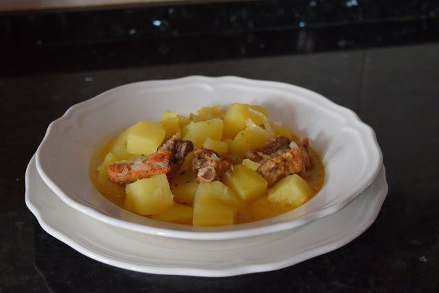 Mi secreto en la cocina: Cooking Chef de Kenwood (KM086): GUISO DE PATATAS CON COSTILLAS DE CERDO