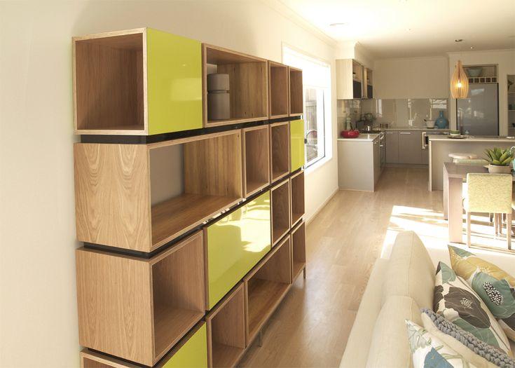 Plywood shelving unit. Alex Earl (Collingwood VIC)