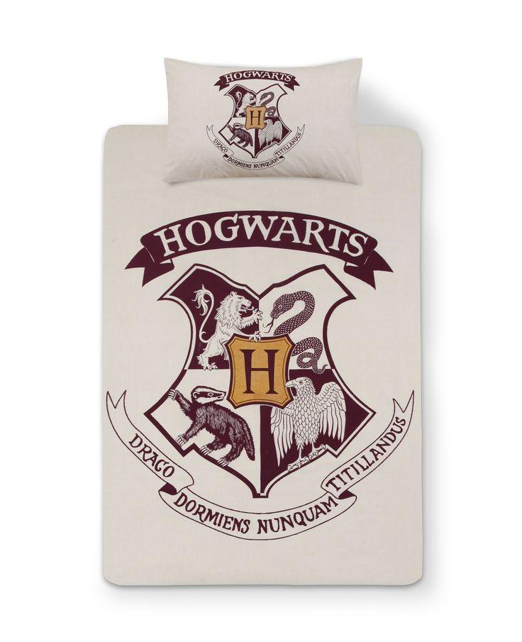 HARRY POTTER HOGWARTS Duvet Reversible Bed Set Primark SINGLE DOUBLE