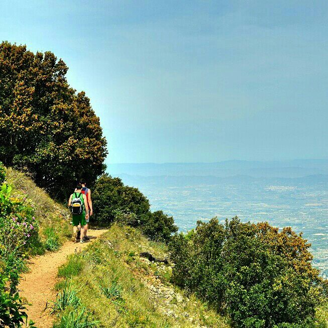 #hiking Benicadell #ascent in #inland #valencia #slowtravel #landscapes