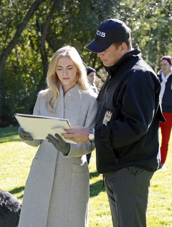 Pictured left to right: Emily Wickersham and Michael Weatherly