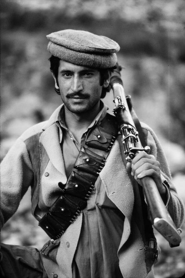 Afghan fighter, ca 1980. Steve McCurry