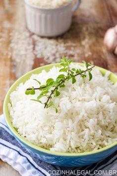 Como fazer arroz branco soltinho | Cozinha Legal