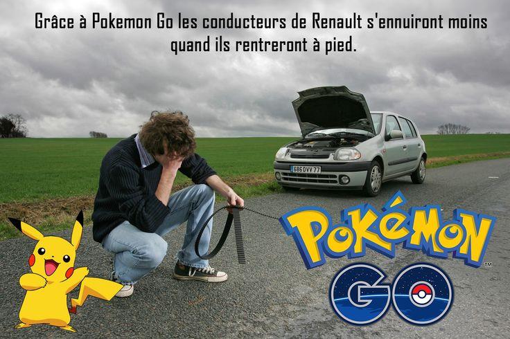 Pokemon GO & Renault