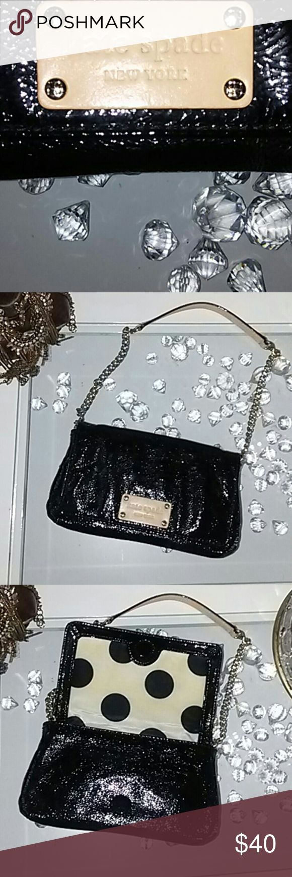 Kate Spade Patent Leather Evening Bag Kate Spade Evening Bag kate spade Bags Clutches & Wristlets