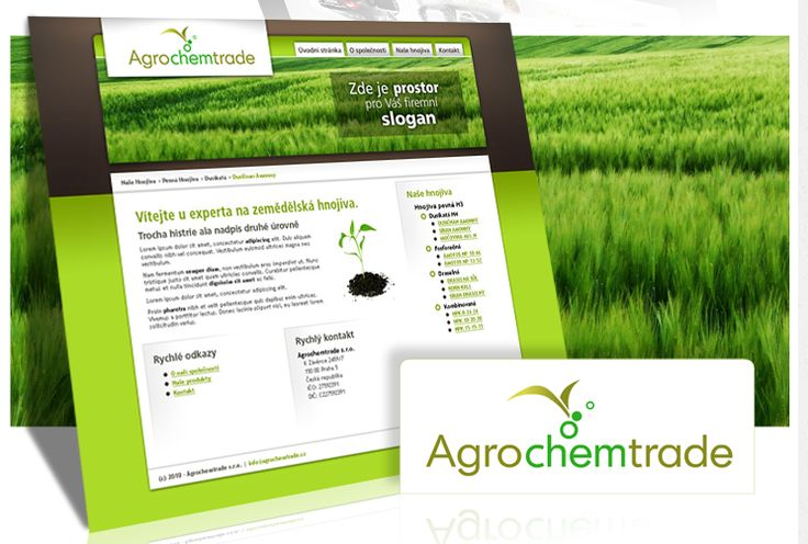 Web design pro Agrochemtrade