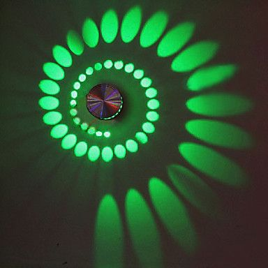 Spectacular W Artistic Modern Led Wall Light with Scattering Light Design Whirlpool Shadow Stretching u USD