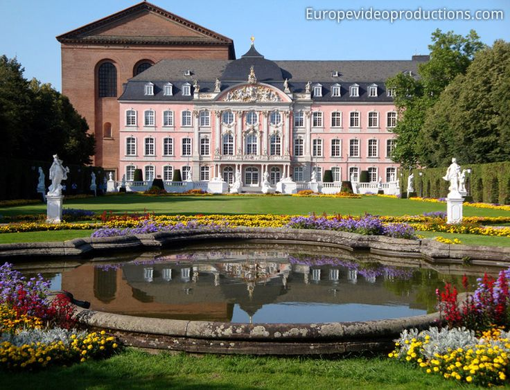 Prince's electoral Palace in Trier in Germany