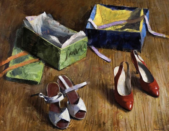 .:.ΣΑΜΙΟΣ Παύλος – Pavlos SAMIOS  [1948] The new shoes, 2006