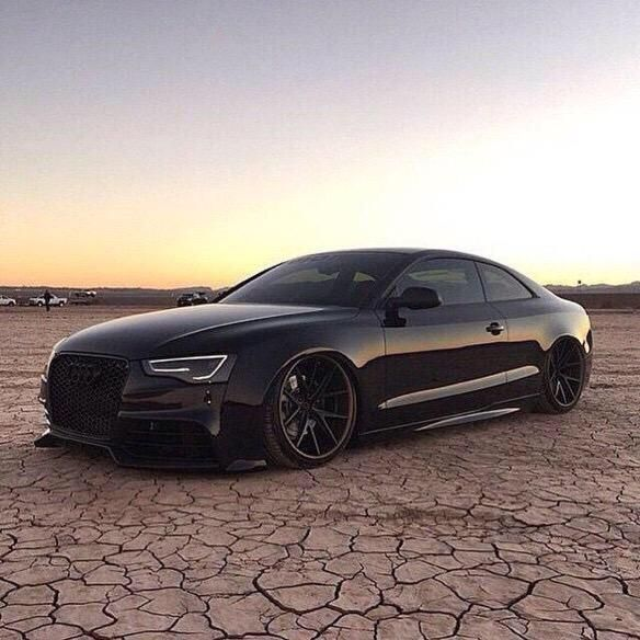 Slammed Blacked Out Audi RS5