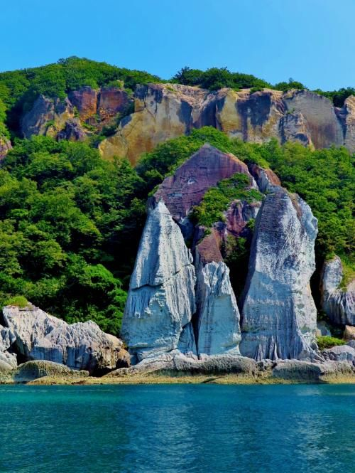 Hotoke-ga-ura, Shimokita, Aomori, Japan  仏ヶ浦