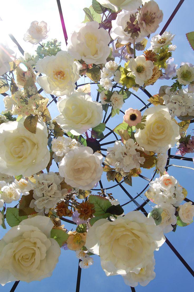 Bloemen installatie