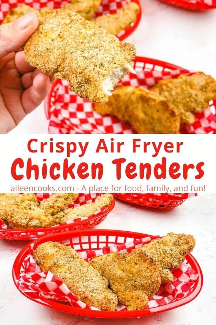 Air Fryer Chicken Tenders Recipe In 2020 Air Fryer Chicken Tenders Chicken Tenders Air Fryer Chicken
