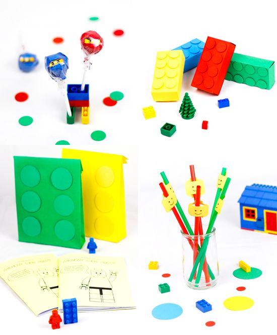Festa di compleanno a tema Lego