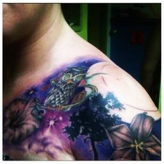 night sky sleeve tattoo - Google Search