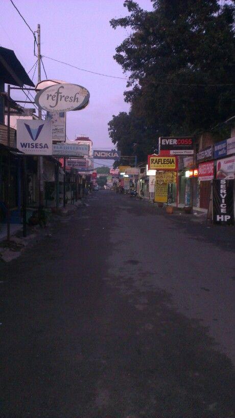 Phone street near homestay
