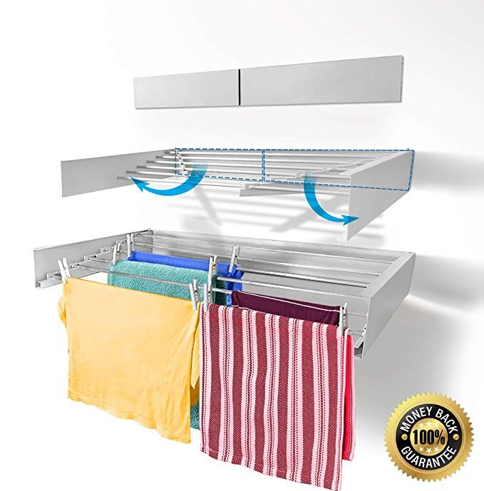 Step Up Laundry Drying Rack