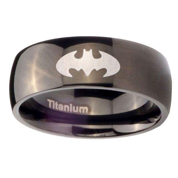 17 best ideas about batman wedding rings on