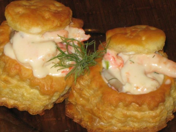 Creamy Seafood In Puff Pastry Recipe