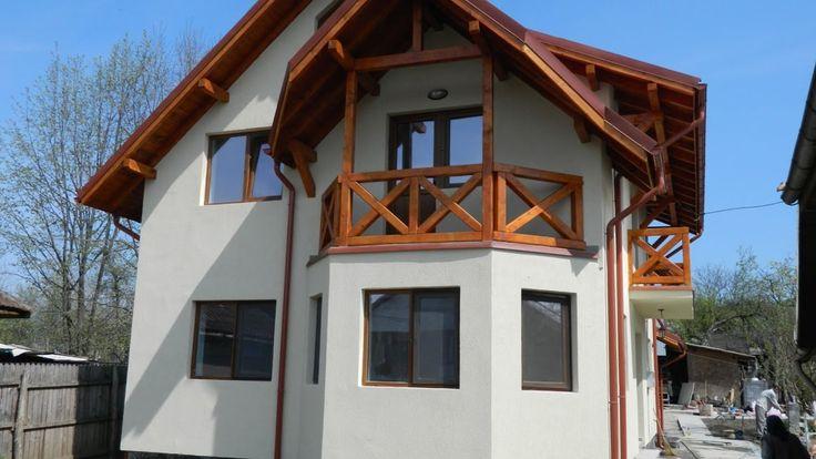 Proiecte case zidarie -  constructia casei de la Sangeru, jud  Prahova