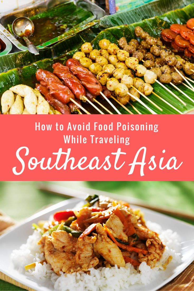 How to Avoid Food Poisoning While Traveling Southeast Asia | http://www.theflyawaylife.com