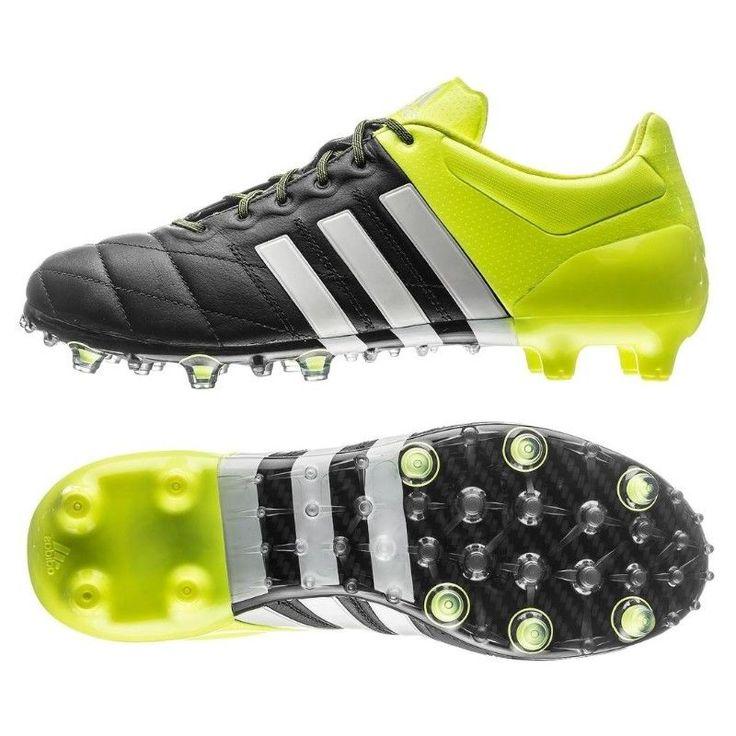 Adidas ACE 15.1 FG/AG Leather Pro Football Boots Soccer Predator UK8.5 Mens £155 #adidas