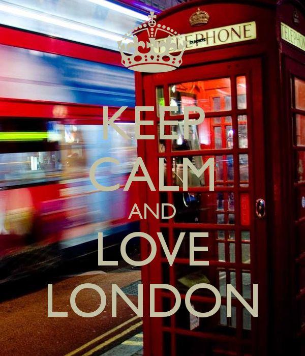 KEEP CALM AND LOVE LONDON