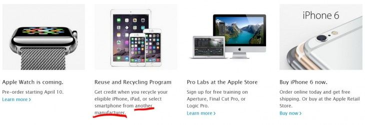 You can now trade in your Android, Windows or BlackBerry smartphone for credit at Apple Stores