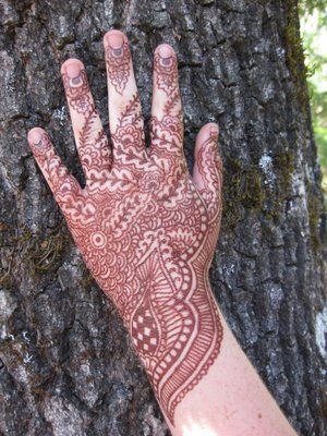Fake Henna Tatoo with a Brown Sharpie Tattoos by the Lake | Just Something I Made