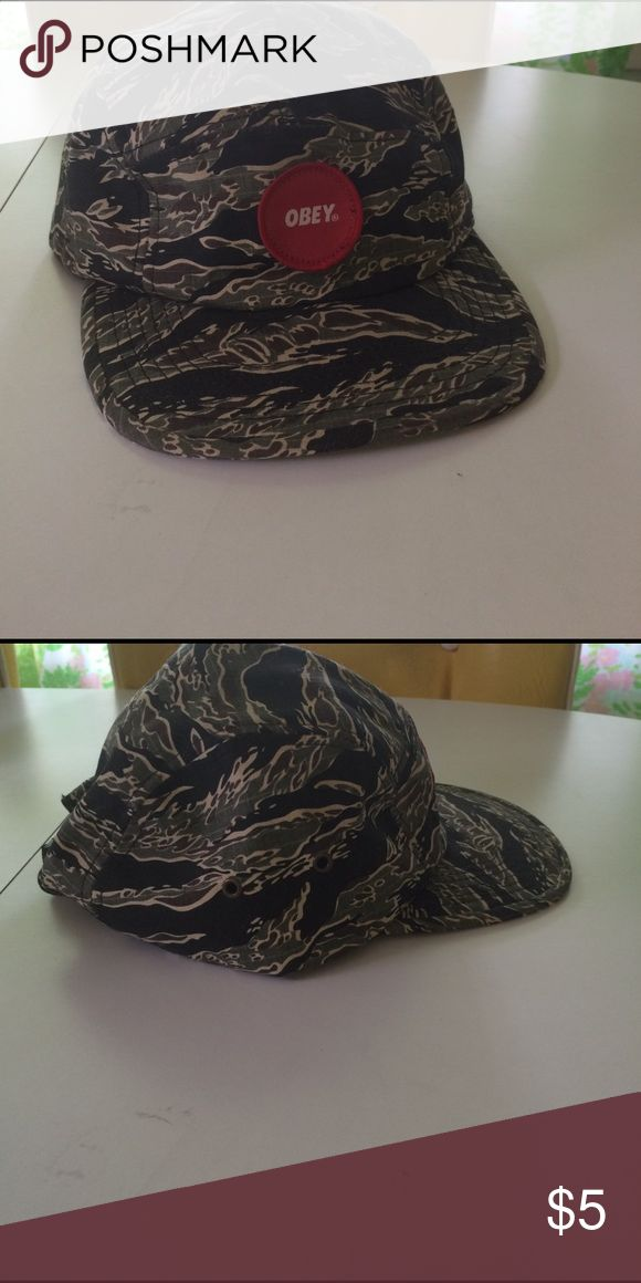 Obey camo hat Obey camo hat- great condition Obey Accessories Hats