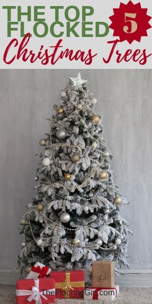 ee3afdc6aea Check out the 5 prettiest floocked Christmas trees you can buy online. And