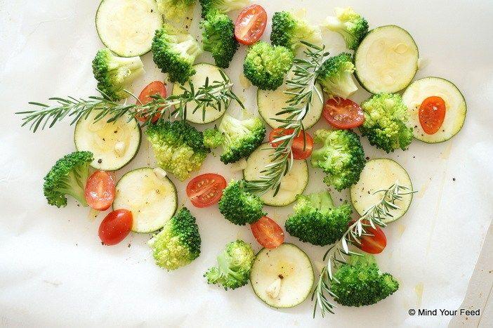 Gegrilde broccoli