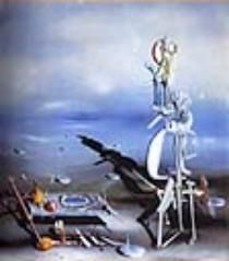 Image by Yves Tanguay at a  site which has a great history of Surrealism and text from the original surrealist manifesto by Breton.