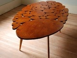 Small Circles Coffee Table by michaelarras - eclectic - coffee tables - - by Etsy