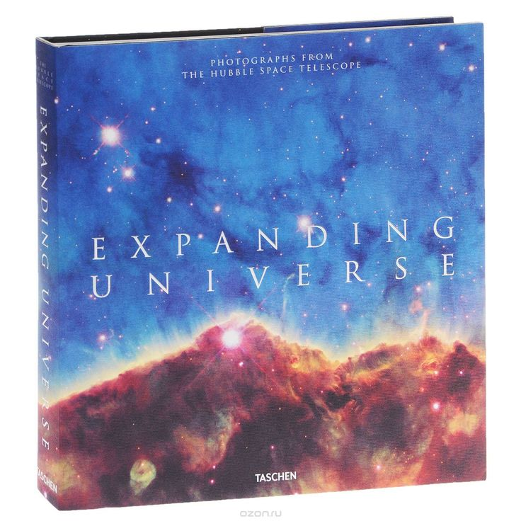 "Книга ""Expanding Universe: Photographs from the Hubble Space Telescope"""