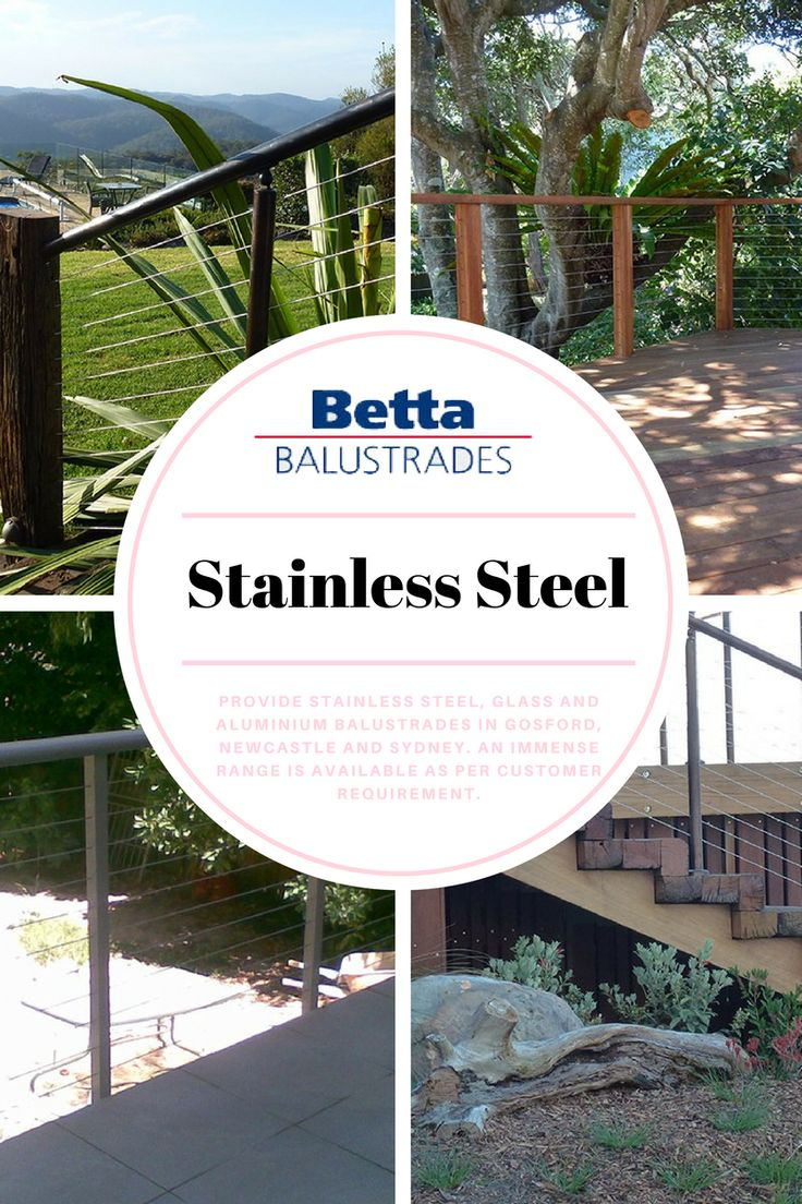 We offer various types of products for balustrades, which include Glass Balustrades, Tubular Balustrades, Privacy Screen, Stainless Steel, and other products.
