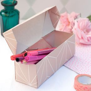 Quick-folded DIY origami gift boxes